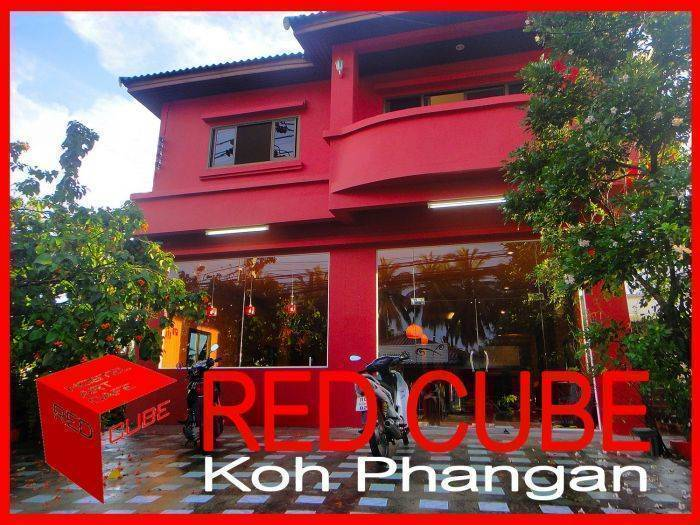 Red Cube, Ko Phangan, Thailand, safest hotels in secure locations in Ko Phangan