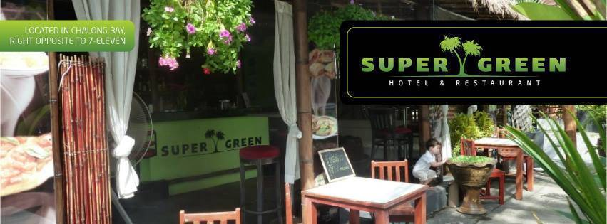 Super Green Hotel Bar Restaurant, Ban Chalong, Thailand, Thailand hotels and hostels