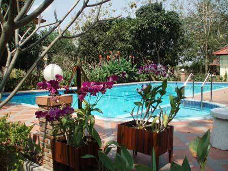 Thai-Bamboo Guesthouse Resort, Cha-am, Thailand, popular travel in Cha-am