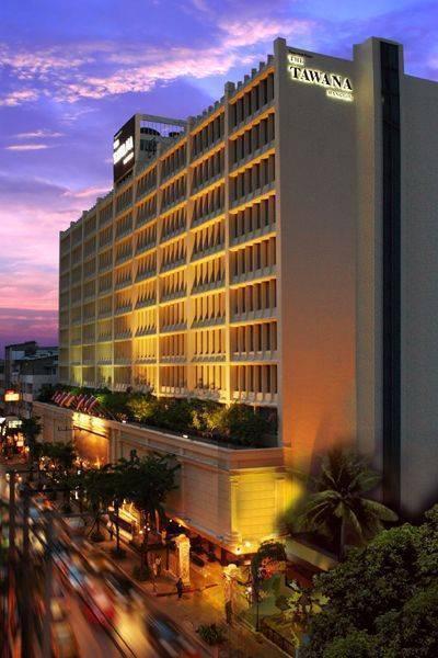 The Tawana Bangkok, Bangkok, Thailand, Thailand hotels and hostels