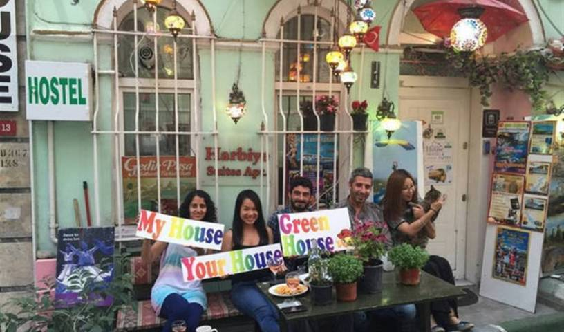 Green House Hostel - Search for free rooms and guaranteed low rates in Taksim 10 photos