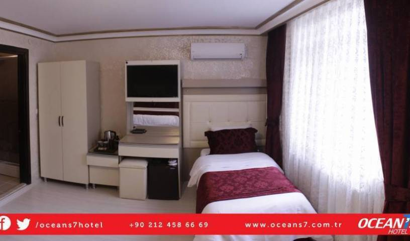 Oceans7 Hotel - Search available rooms for hotel and hostel reservations in Sultanahmet 22 photos