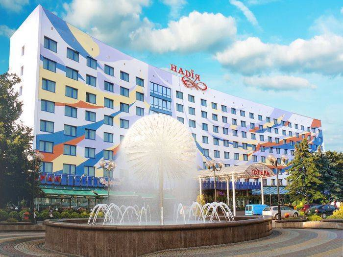 Nadia Hotel, Ivano-Frankivs'k, Ukraine, hotels near transportation hubs, railway, and bus stations in Ivano-Frankivs'k
