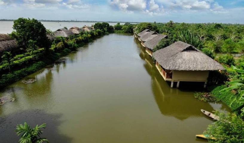Mekong Riverside Boutique Resort and Spa - Search available rooms for hotel and hostel reservations in Cai Be 5 photos