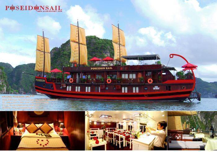 Halong Poseidon Sail, Ha Long, Viet Nam, Viet Nam hotels and hostels