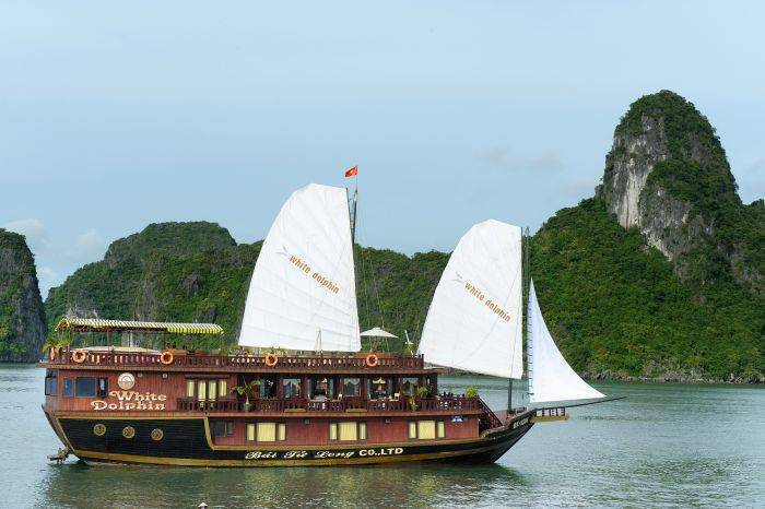 White Dolphin, Ha Long, Viet Nam, travelling green, the world's best eco-friendly hotels in Ha Long