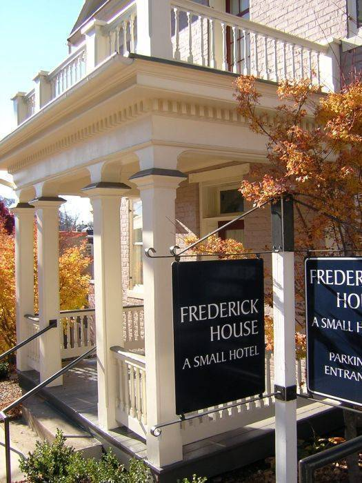 Frederick House, Staunton, Virginia, Virginia hostels and hotels