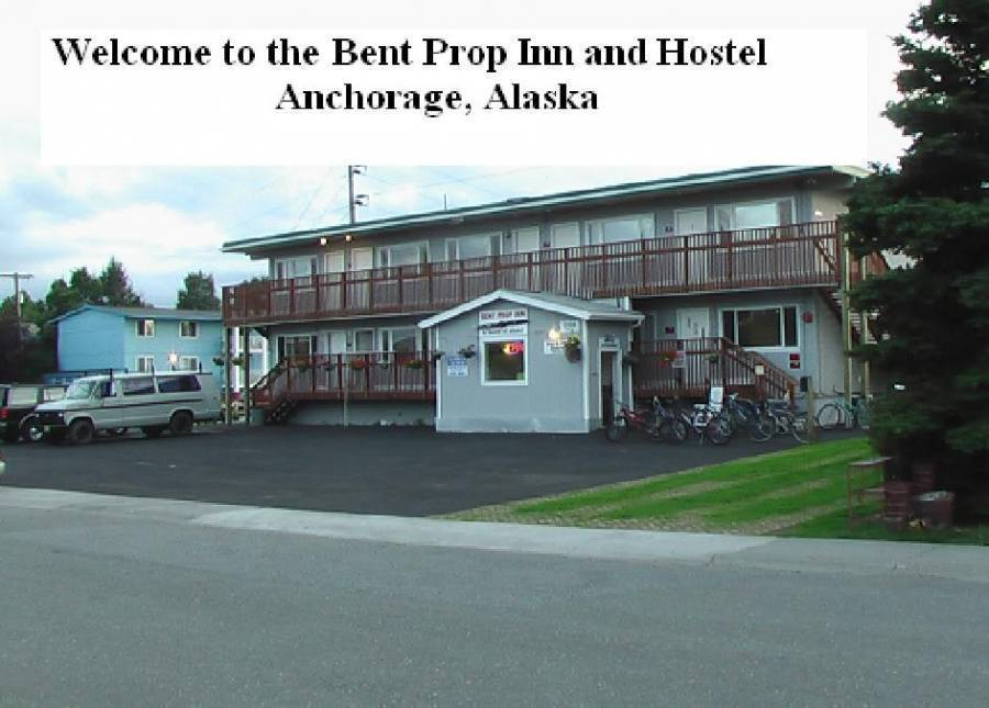 Bent Prop Inn, Anchorage, Alaska, Alaska hotels and hostels