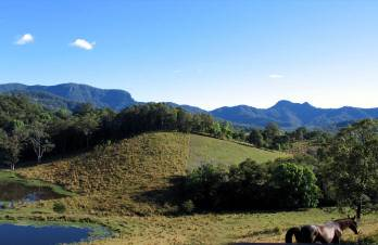 Hillcrest Mt Warning View Retreat, Crystal Creek, Australia, affordable posadas, pensions, hostels, rural houses, and apartments in Crystal Creek
