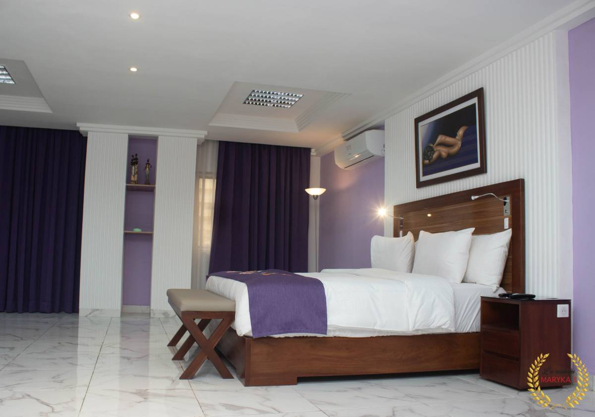 Residence Maryka II, Cotonou, Benin, experience living like a local, when staying at a hotel in Cotonou