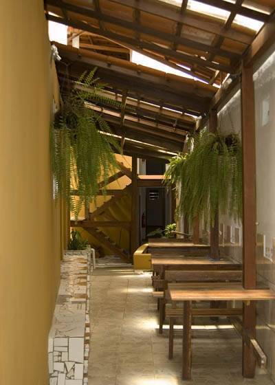 Albergue O Pharol Hostel, Itacare, Brazil, what is a green hotel in Itacare