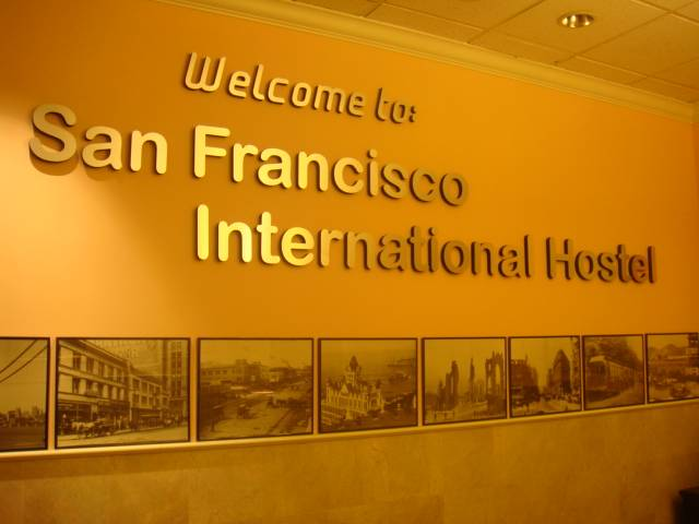 San Francisco International Hostel, San Francisco, California, California hostela i hotela