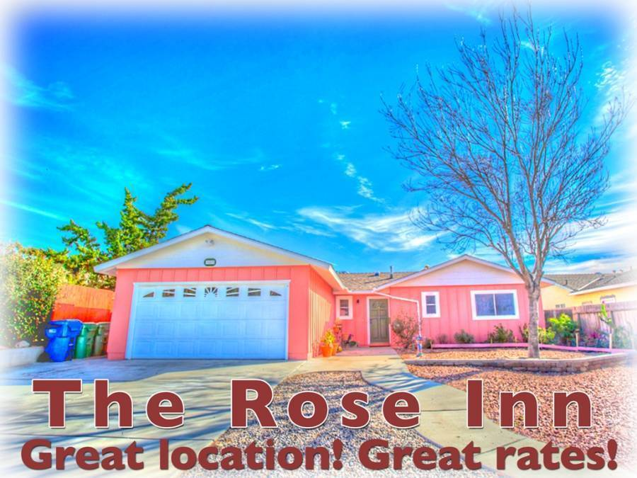 The Rose Inn Bed and Breakfast, Santee, California, California hotels and hostels
