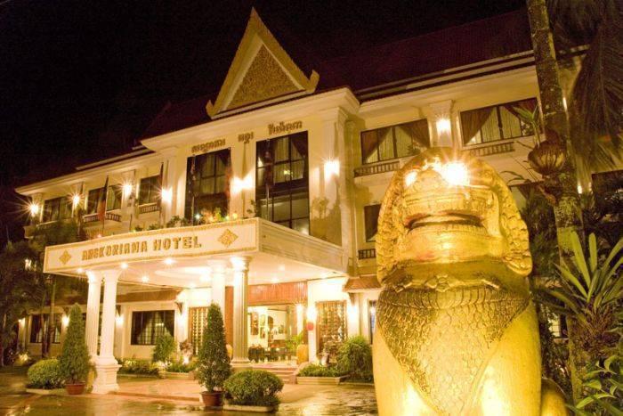Angkoriana Boutique Hotel, Siem Reap, Cambodia, Motéis acessíveis, pousadas motoras, casas de hóspedes e alojamento dentro Siem Reap