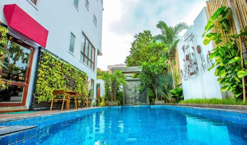 Le Cocon Boutique Hotel - Nhận mức giá khách sạn thấp và kiểm tra Tuol Tumpung,  khách sạn và ký túc xá 12 ảnh