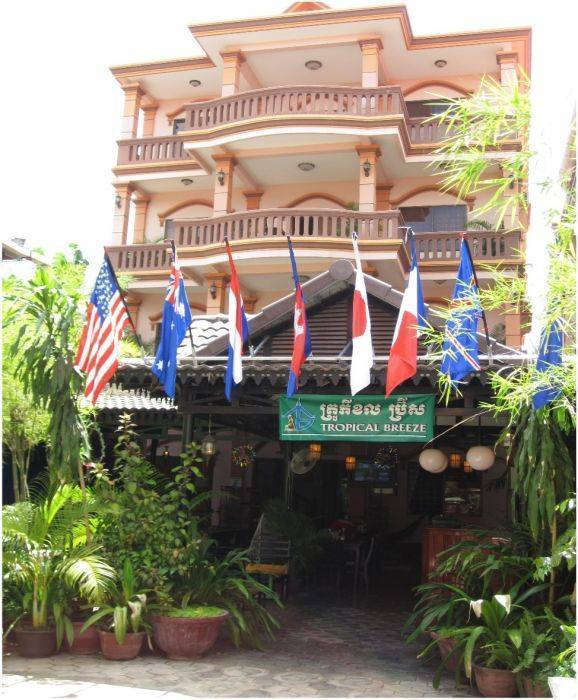 Tropical Breeze Guesthouse, Siem Reap, Cambodia, Cambodia hotels and hostels
