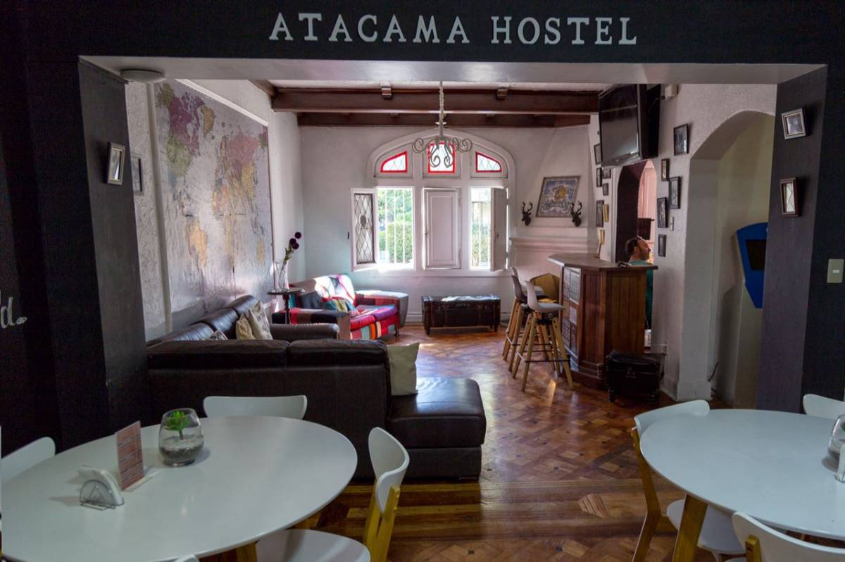 Atacama Hostel - Backpackers, Santiago, Chile, explore things to see, reserve a hotel now in Santiago