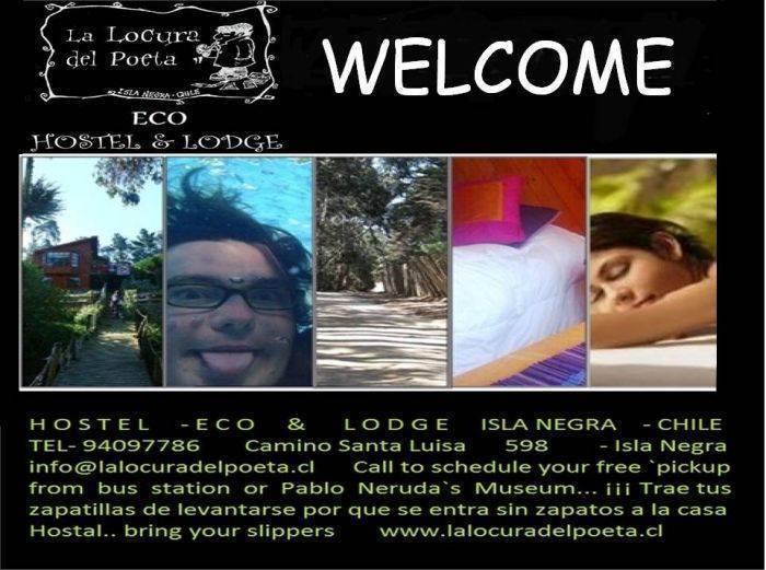 Eco Hostal La Conexion del Poeta, El Quisco, Chile, Chile hostels and hotels