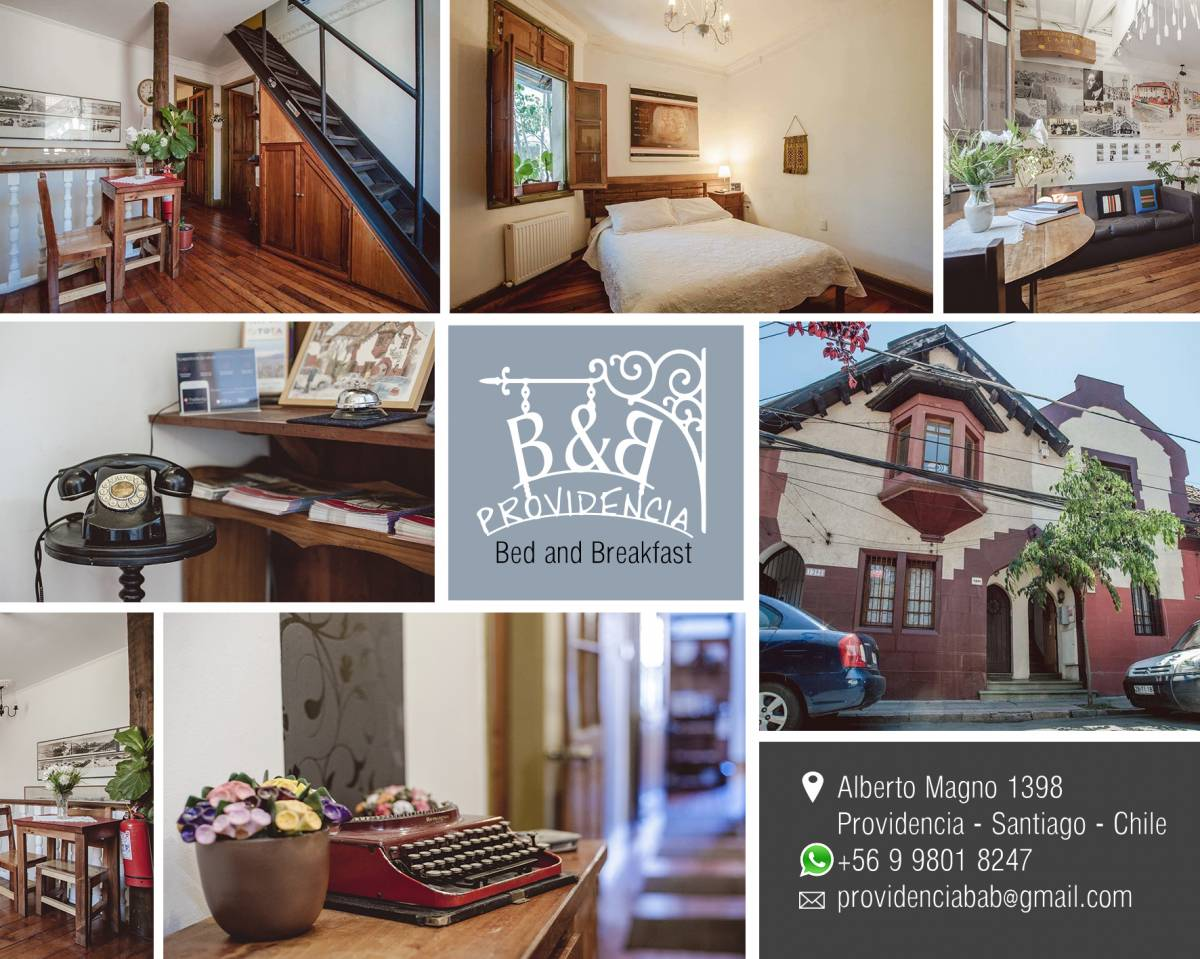 Providencia Bed and Breakfast, Santiago, Chile, Chile hotels and hostels