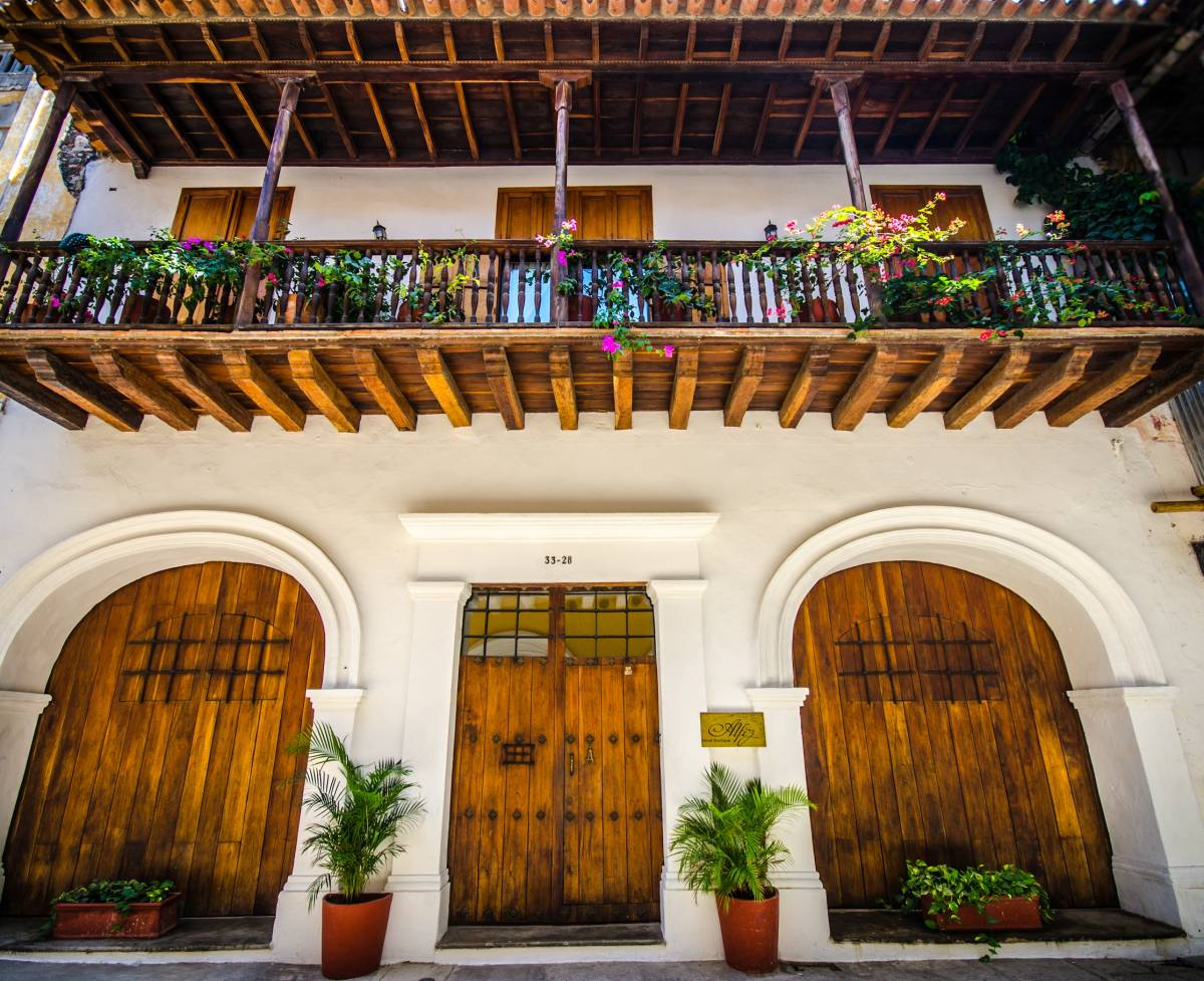 Alfiz Hotel, Cartagena, Colombia, Colombia hostels and hotels
