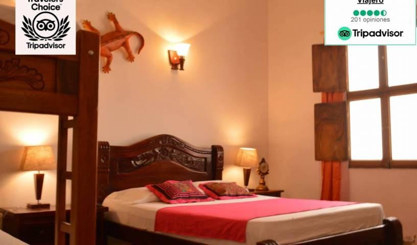 Hostal La Casa del Viajero Mompox - 获得便宜的旅馆费用,并检查可用性 Mompos, 找到床和住宿 8 相片