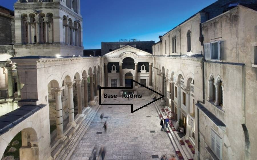 Base Rooms, Split, Croatia, Croatia hotels and hostels