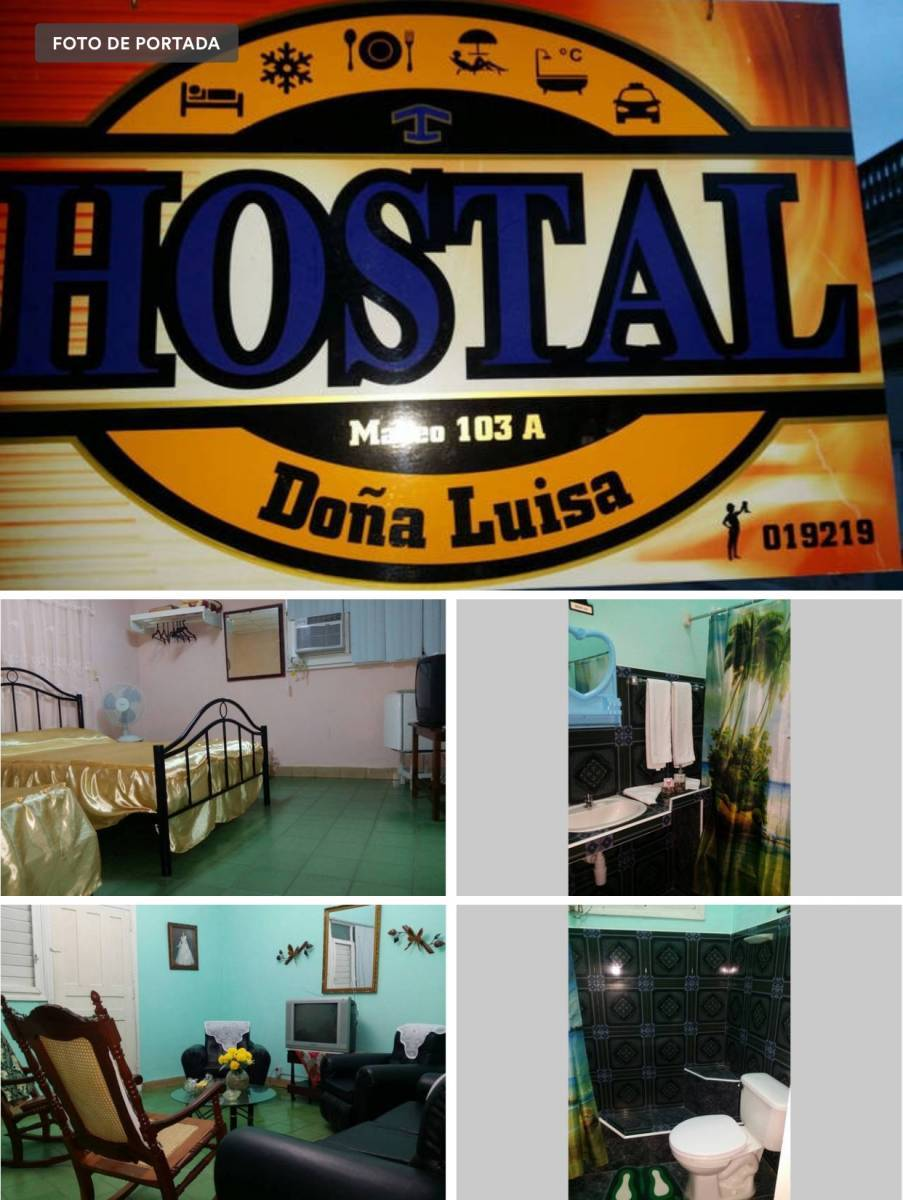 Hostal Dona Luisa, Santa Clara, Cuba, Cuba hotels and hostels