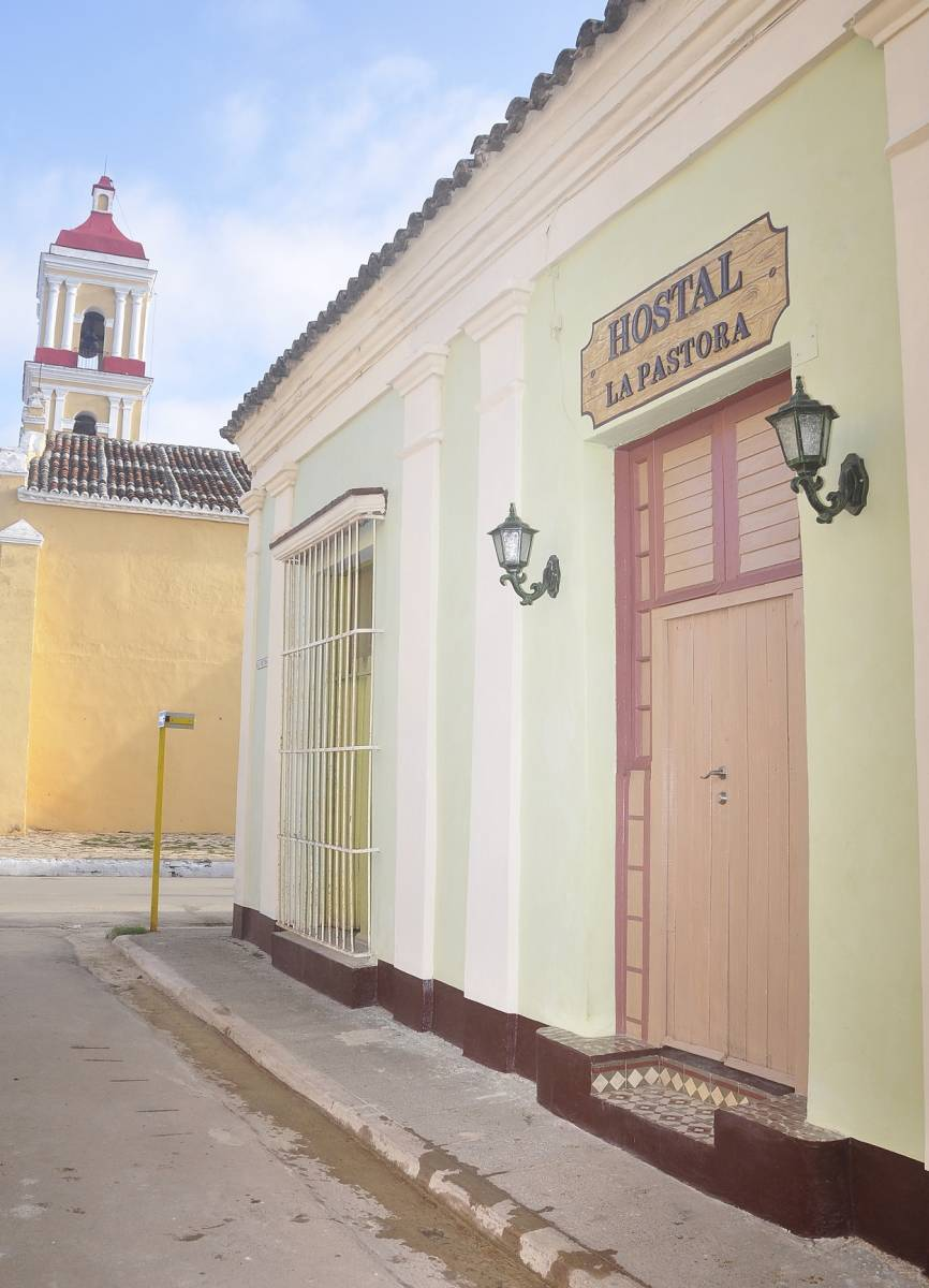 Hostal La Pastora, Remedios, Cuba, Cuba hoteli in hostli