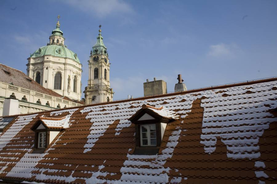 Little Town Hotel, Prague, Czech Republic, hotels and places to visit for antiques and antique fairs in Prague