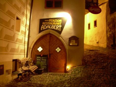 Pension Adalbert, Cesky Krumlov, Czech Republic, Czech Republic hotels and hostels