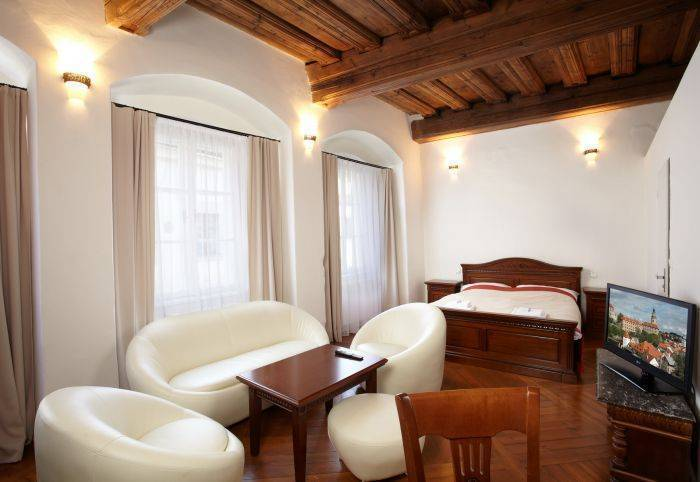 Residence Muzeum Vltavinu, Cesky Krumlov, Czech Republic, hotel reviews and discounted prices in Cesky Krumlov