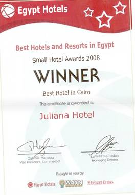 Juliana Hotel, Cairo, Egypt, how to choose a vacation spot in Cairo