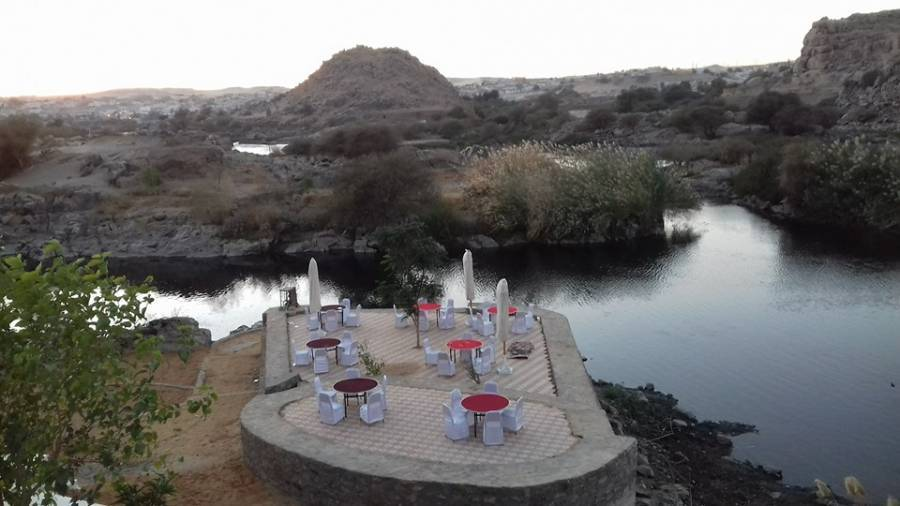 Nubian Cataract Hotel and Restaurant, Aswan, Egypt, late hotel check in available in Aswan