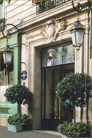 Best Western Bradford Elysees, Paris, France, France hotels and hostels