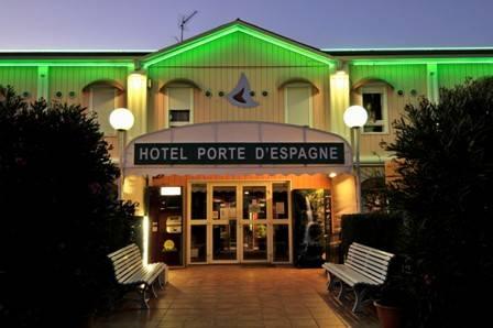 Hotel Porte d'Espagne, Perpignan, France, France hotels and hostels