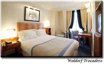 Waldorf Trocadero, Paris, France, fast online booking in Paris