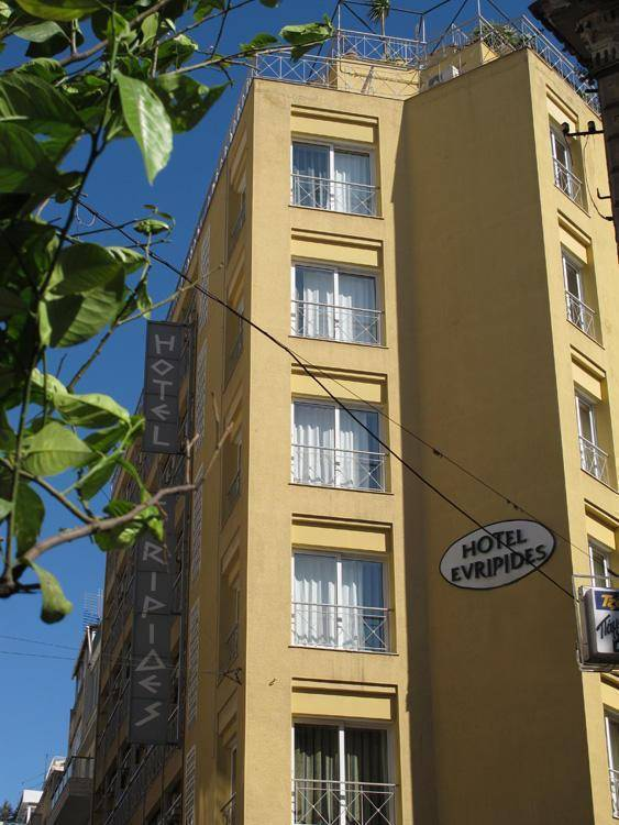Evripides Hotel, Athens, Greece, Greece hostels and hotels