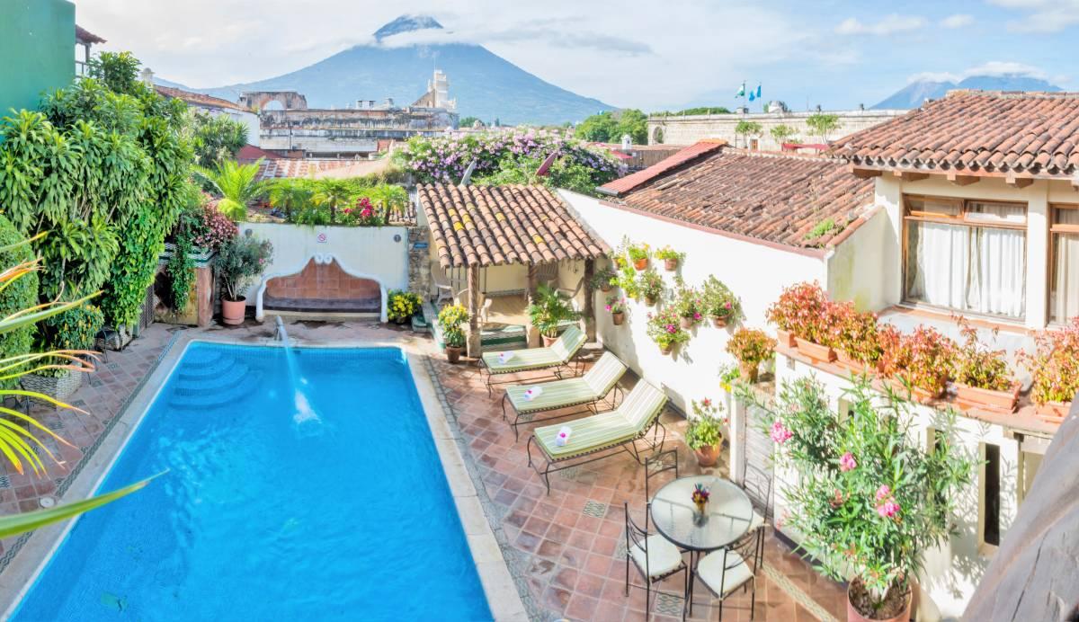 Hotel Casa del Parque, Antigua Guatemala, Guatemala, Guatemala hostely a hotely