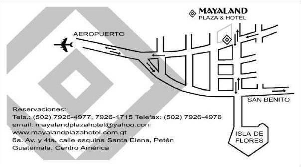Mayaland Plaza Hotel, Flores, Guatemala, Férias de hotel dentro Flores