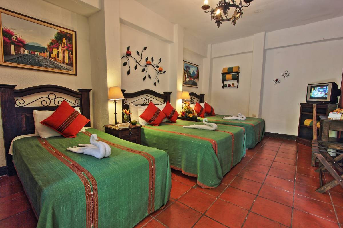Posada Dona Luisa, Antigua Guatemala, Guatemala, hotels near transportation hubs, railway, and bus stations in Antigua Guatemala