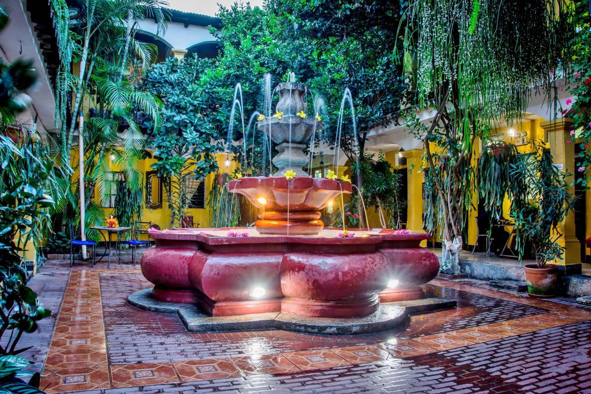 Posada San Vicente, Antigua Guatemala, Guatemala, best hotels in cities for learning a language in Antigua Guatemala