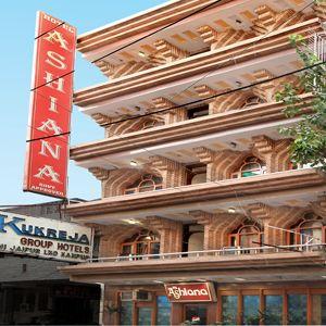 Hotel Ashiana, Paharganj, India, India hoteller og vandrehjem