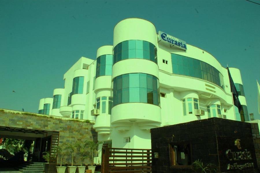 Hotel Eurasia, Jaipur, India, India hoteller og vandrehjem