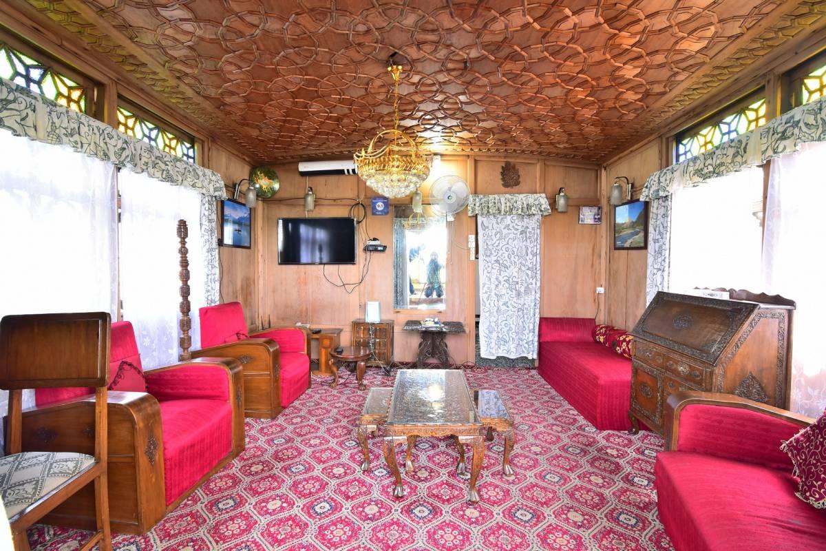Houseboat Zaindari Palace, Srinagar, India, Fantastični hoteli u Srinagar