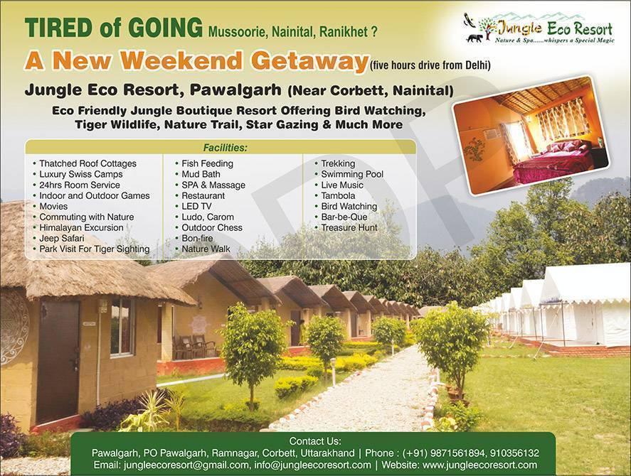 Jungle Eco Resort, Ramnagar, India, India الفنادق و النزل