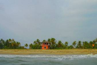 Kuzhupilly Beach House, Cochin, India, Betaalbare appartementen en aparthotels in Cochin