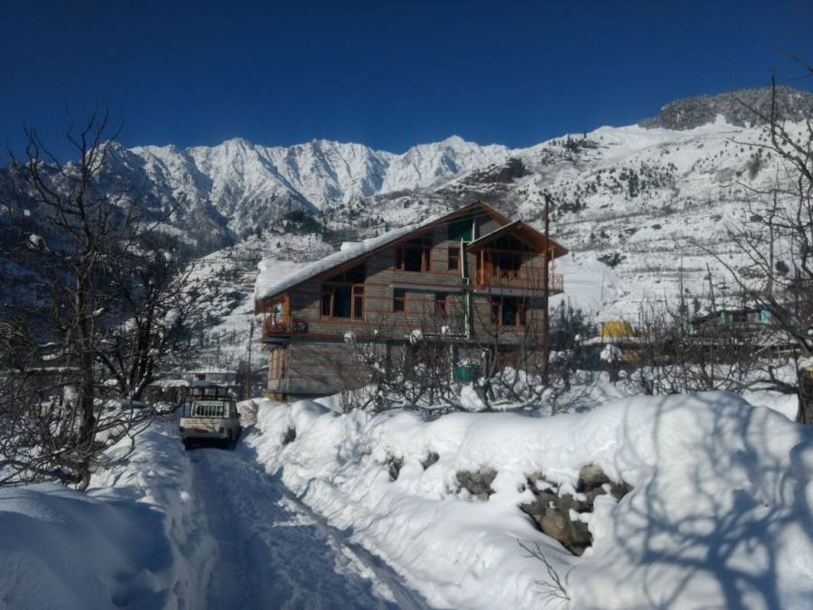 Peak and Snow Cottage, Manali, India, India hotels and hostels