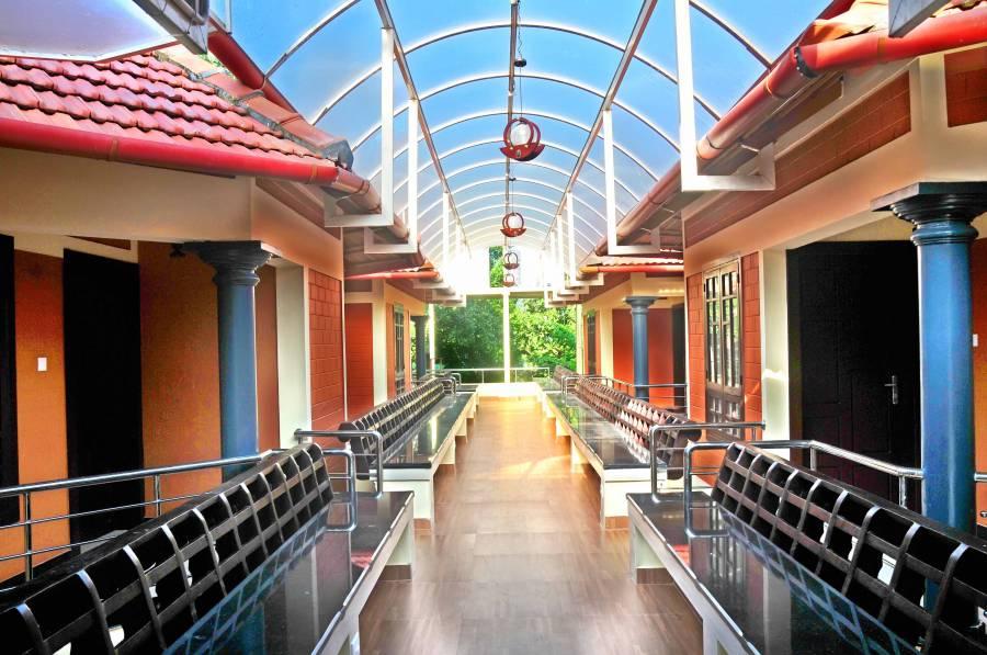 Serene Beach Resort, Varkala, India, Hostela i backpackinga u Varkala