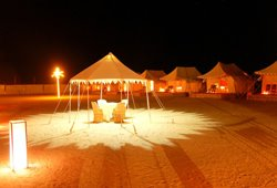 Wild Desert Resort, a unit of Rao Bikaji, Jaisalmer, India, India hoteli i hosteli
