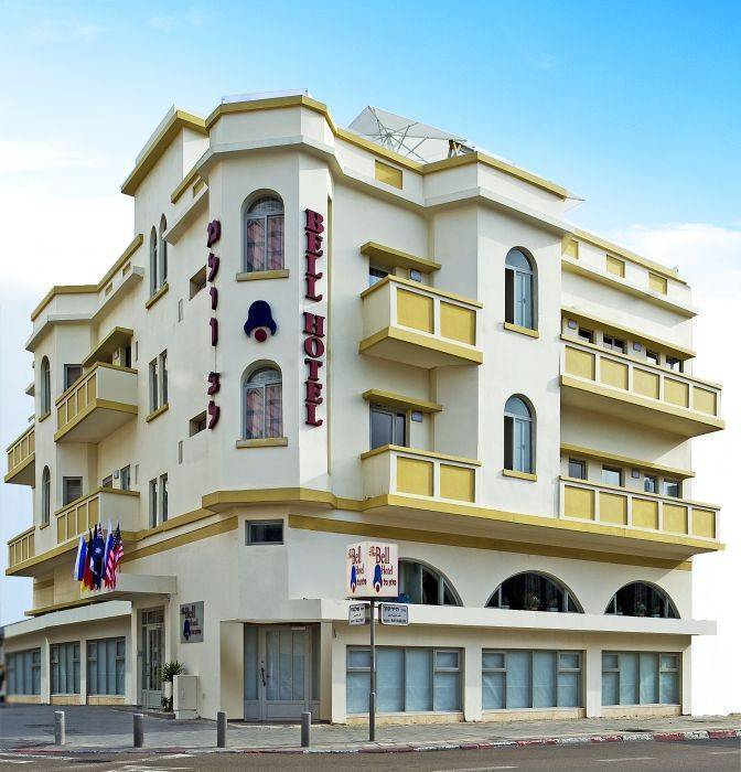 Bell Hotel, Tel Aviv, Israel, Israel hotels and hostels